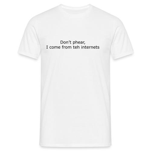 internetsphear - Miesten t-paita
