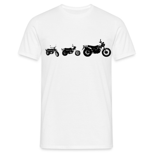 Monkeybike History - Men's T-Shirt