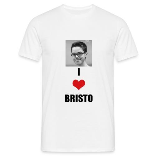 RICHARD_LOVES_BRISTO_2018 - Men's T-Shirt