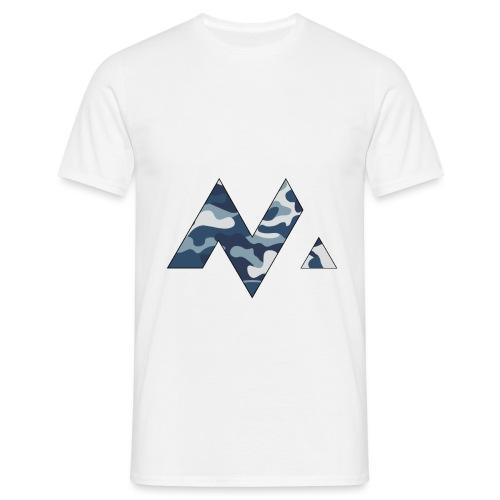 M Logga (svart outline) - T-shirt herr