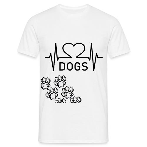 DOGS T-SHIRT - Männer T-Shirt