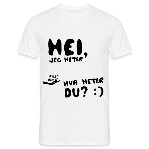 heijegheter - T-skjorte for menn