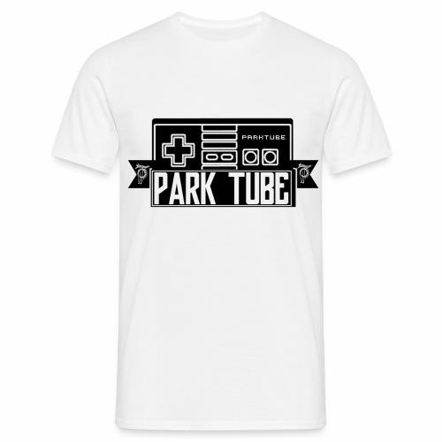 ParkTube Gaming Logo schwarz - Männer T-Shirt