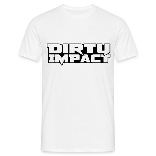 logo neu dirty impact high quality - Männer T-Shirt