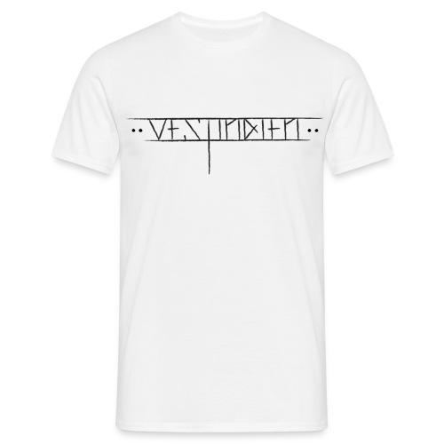 vestindienskriftny1 - T-skjorte for menn