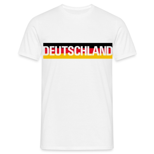 Deutschland - Germany flag - Men's T-Shirt