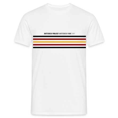Postcode and hoops - Men's T-Shirt
