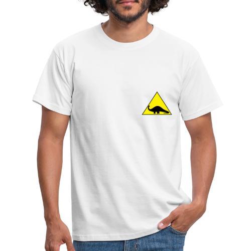 Silhouette Brontosauro2 - Maglietta da uomo