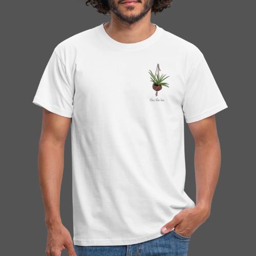 Alois Aloe Vera Pflanze in Kokosnussschale - Männer T-Shirt