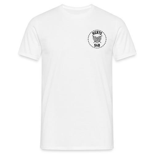 StitchAndBitchFrontLogo_A - Men's T-Shirt