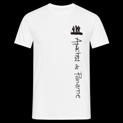 logo apaches vertical noir - T-shirt Homme
