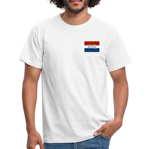 In Dutch we don't say - Mannen T-shirt