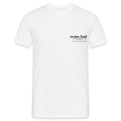 logo-social-media-blk-tra - Men's T-Shirt