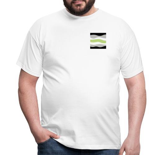asex not straight Zeichenfläche 1 - Männer T-Shirt