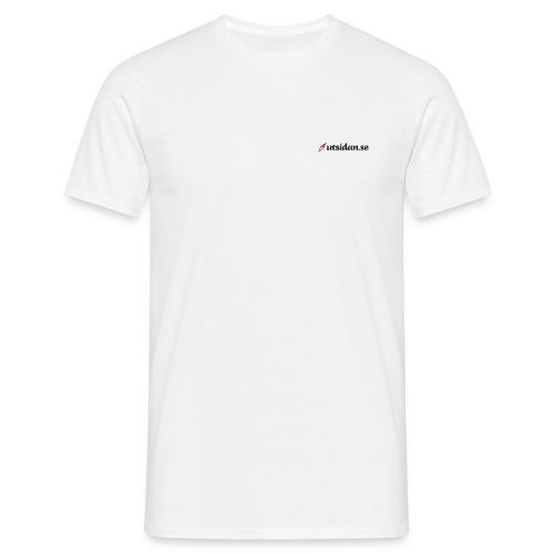 Utsidan logotyp - T-shirt herr