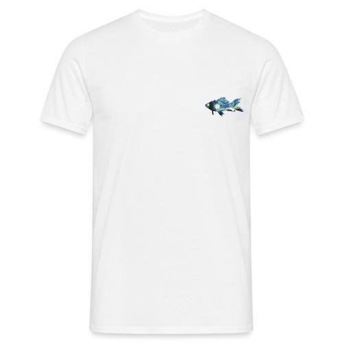 Pez estampado cuadro La noche estrellada - Camiseta hombre