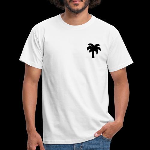 Palm Basic Black - Herre-T-shirt