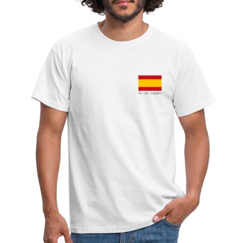 yo soy español - Camiseta hombre