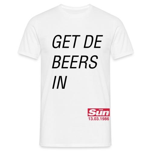 Get De Beers In B - Men's T-Shirt