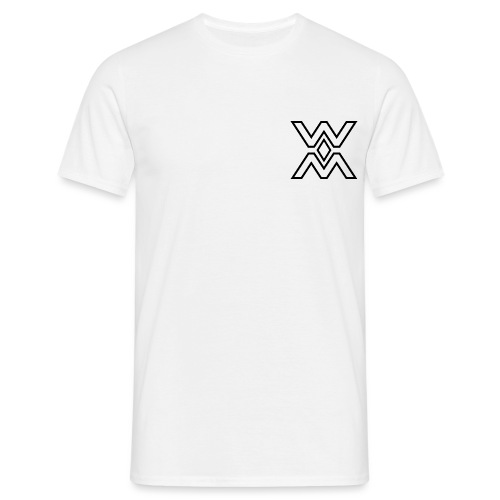 warou team logo noir officiel - T-shirt Homme