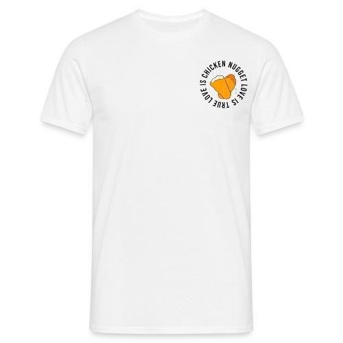 Chicken Nugget Love - Männer T-Shirt