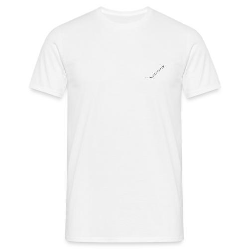Damaged pencil logo - Männer T-Shirt