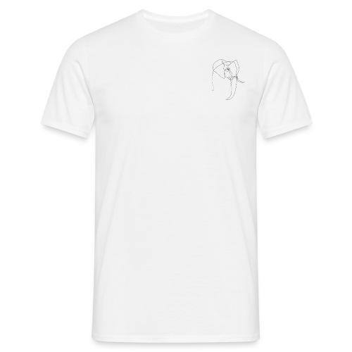 Olifant basic - Mannen T-shirt