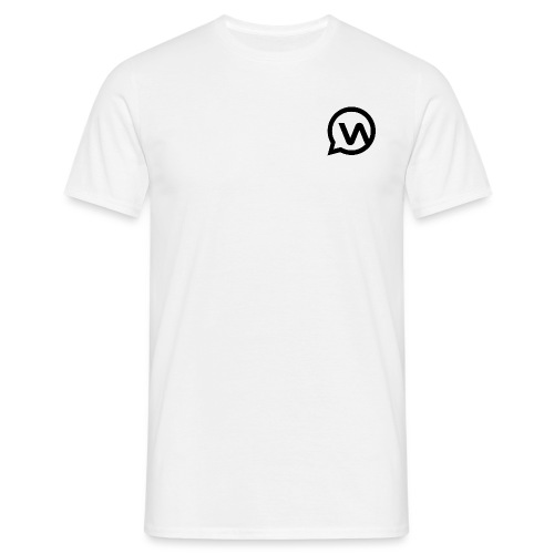 Whatsgrappend WHITE - Mannen T-shirt