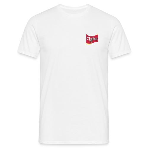 Choke logo - Mannen T-shirt