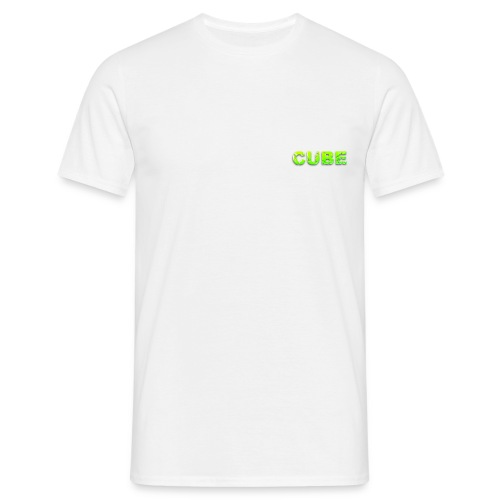 cube green spacial png - Männer T-Shirt