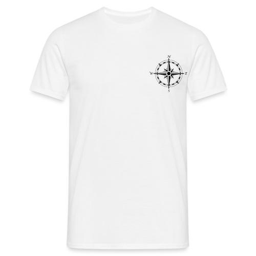 compass rose by draconicparagon d6rjgqi png - Men's T-Shirt