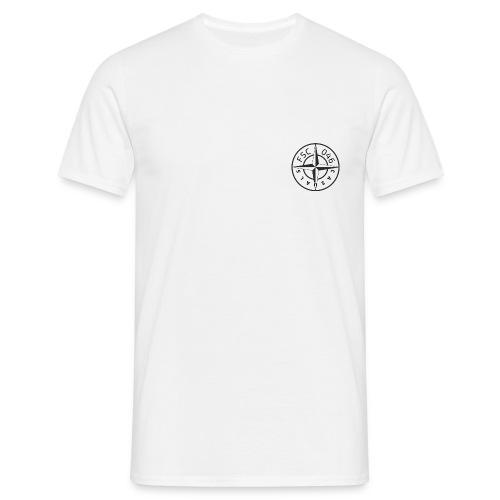 FSC casuals Zwart/Wit - Mannen T-shirt