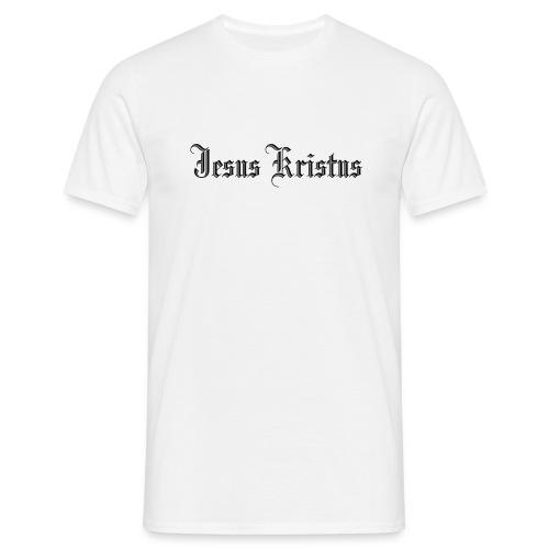 Jesus Kristus 2 gif - T-skjorte for menn