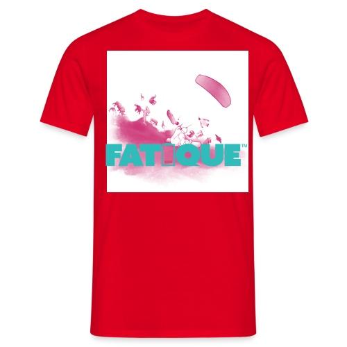 Fatique teal loco logo - Miesten t-paita