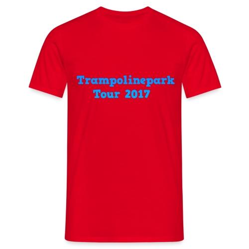 Trampolinepark Tour 2017 - Mannen T-shirt