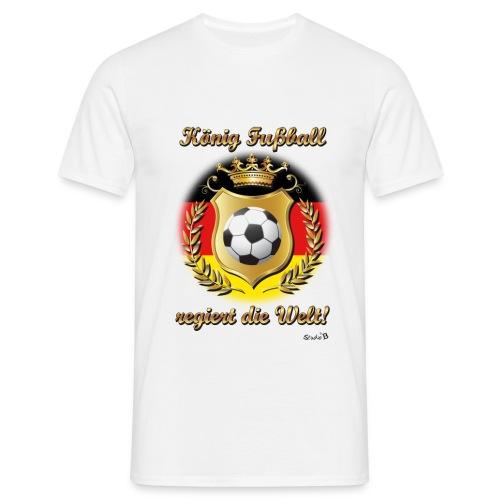 König Fussball03 - Männer T-Shirt