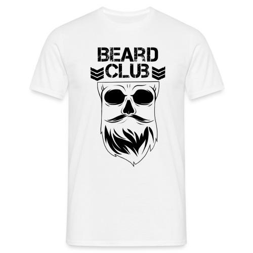 Beard Club schwarz - Männer T-Shirt