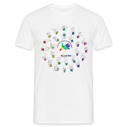 Mes Alphabet, Dactylologi - T-shirt Homme
