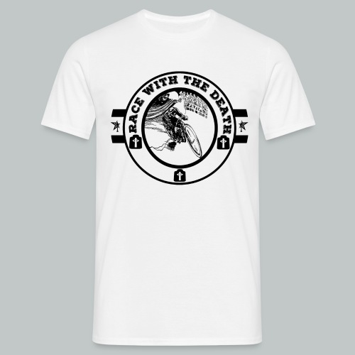 Race With The Death Negro - Men's T-Shirt