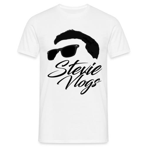 Stevie Vlogs Logo - Men's T-Shirt