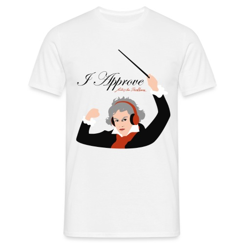 I Approve (Black) - T-shirt herr