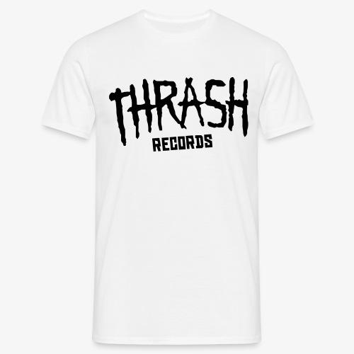 thrashrecords blacklogo png - T-shirt Homme