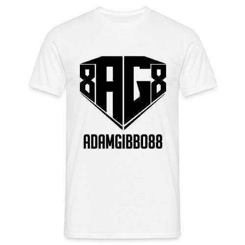 black logo png - Men's T-Shirt