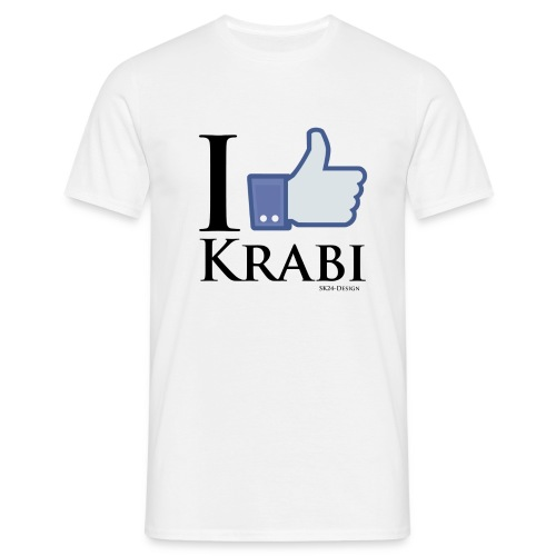 I Like Krabi Black - Men's T-Shirt