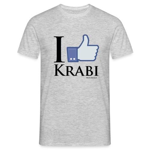 I Like Krabi Black - Männer T-Shirt