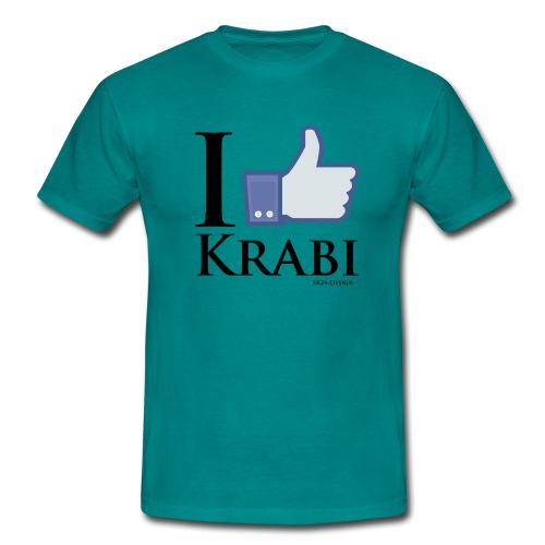 I Like Krabi Black - Männer T-Shirt