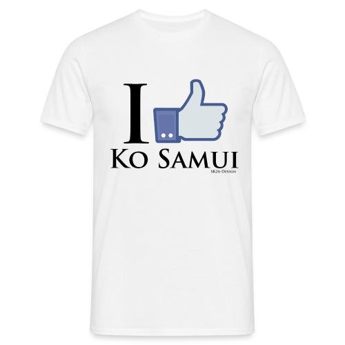 Like-Ko-Samui-Black - Männer T-Shirt