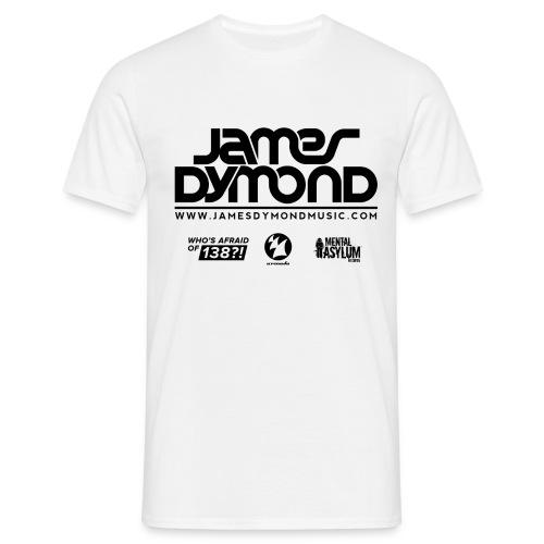 Final JD Shirt Design Black 4 png - Men's T-Shirt
