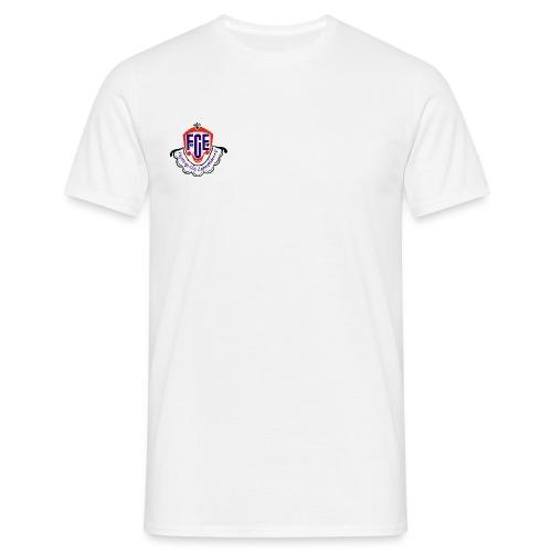 FCE Logo farbig hochauflösend ohne Hintergrund - Männer T-Shirt