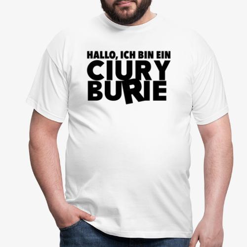 Hallo, ich bin ein CB - T-shirt, Männer - Männer T-Shirt